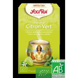 Infusion menthe citron vert yogi tea