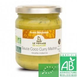 Sauce coco curry madras le voyage de mamabe