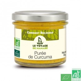 Puree de curcuma le voyage de mamabe