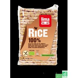 Galettes fines de riz complet lima 130g