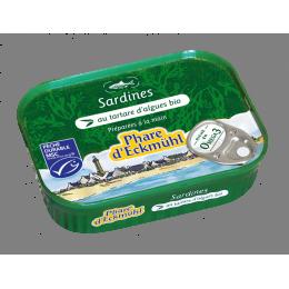 Sardines au tartare d algues phare d eckmuhl