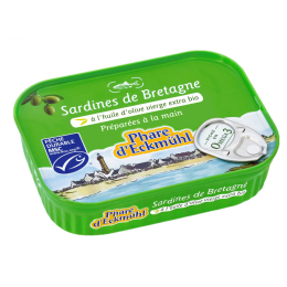 Sardine huile d olive phare d eckmühl