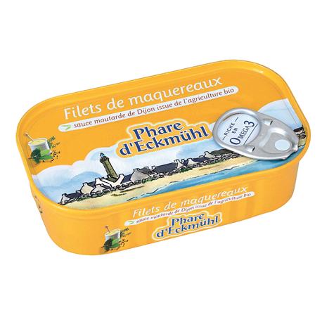 Filets de maquereaux à la sauce moutarde Le Phare d'Eckmühl.