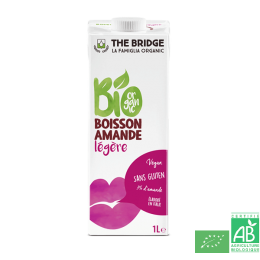Boisson amande legere 1l the bridge