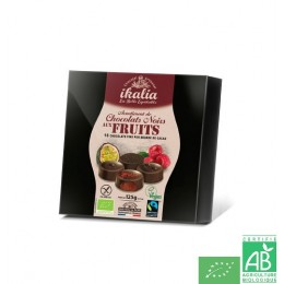 Chocolats noirs aux fruits ikalia