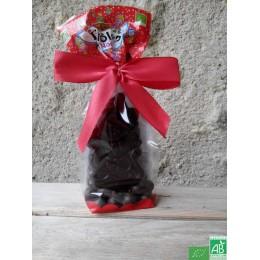 Pere noel chocolat noir saveurs et nature