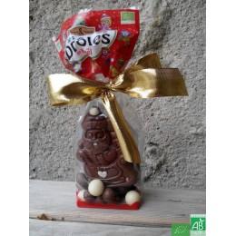 Pere noel chocolat lait saveurs et nature