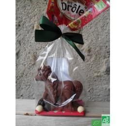 Licorne chocolat au lait saveurs et nature