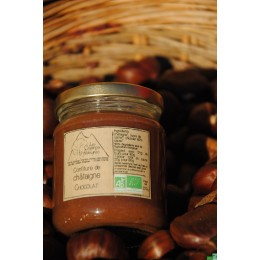 Confiture de chataigne chocolat 220g les champs d