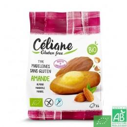 Madeleines amande celiane sans gluten