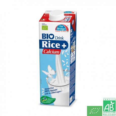 Lait de riz calcium The Bridge