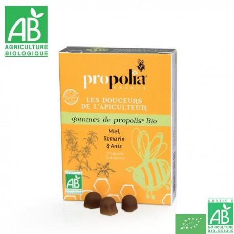 Gommes propolis miel romarin propolia