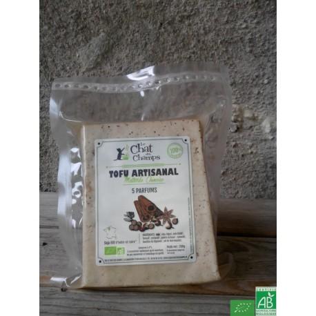 Tofu artisanal 5 parfums le chat des champs