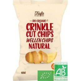 Chips ondulees nature trafo 125g