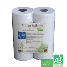 Papier toilette eco label papeco