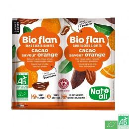 Bio-flan chocolat/orange natali