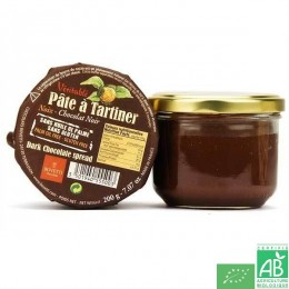 Pate a tartiner noix chocolat noir bovetti 200g