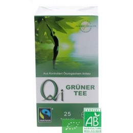 The vert de chine 25 sachets qi herbal health