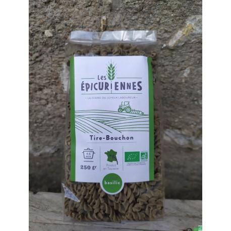 Tire bouchon basilic 250g la ferme du joyeux labou