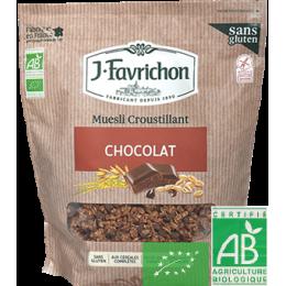 Muesli croustillant chocolat j.favrichon