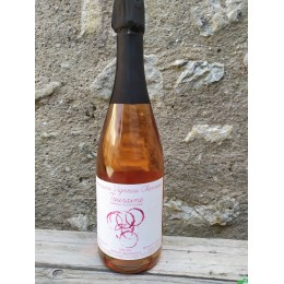 Rose petillant demi sec methode traditionelle vign