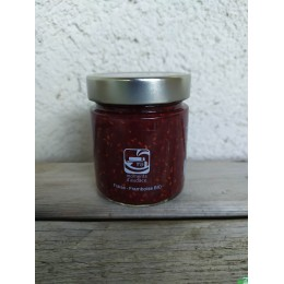Confiture fraise framboise moments d audace