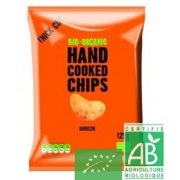 Chips barbecue bio organic