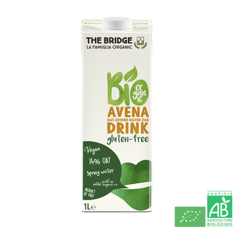 Boisson avoine sans gluten the bridge