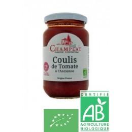 Coulis de tomate a l ancienne la rerve de champlat 650g