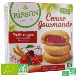 Coeurs gourmands fruits rouges bisson