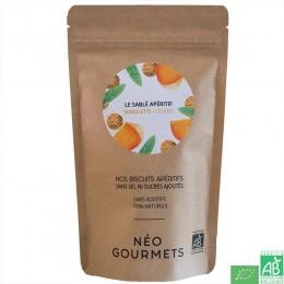 Biscuits aperitifs mimolette sesame neogourmets