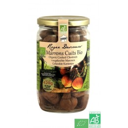Marrons cuits entiers roger descours