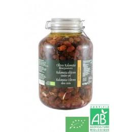 Olives noires kalamata sans noyaux epikouros, 150g