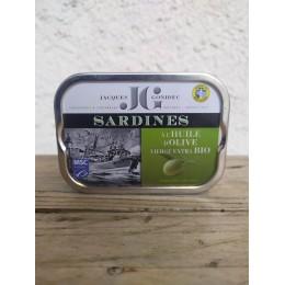 Sardines a l huile d olive jc
