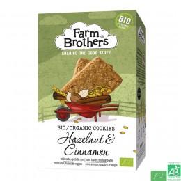 Cookies noisettes et cannelle farm brothers