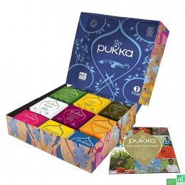 Coffret box thes pukka