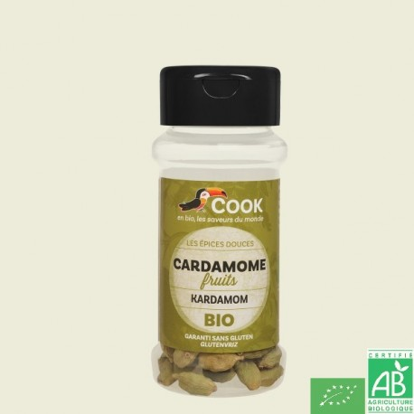 Cardamome fruits cook