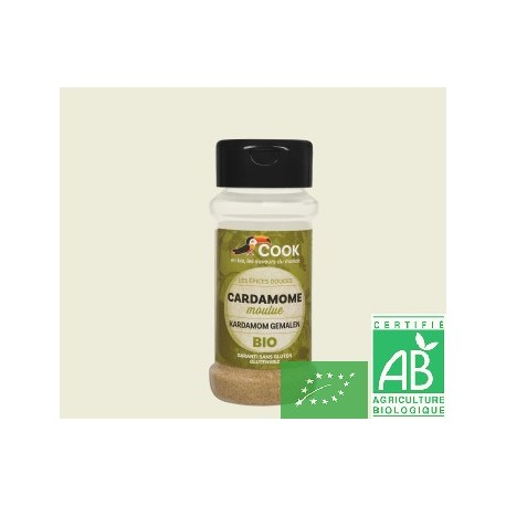 Cardamome moulue 35g cook arcadie