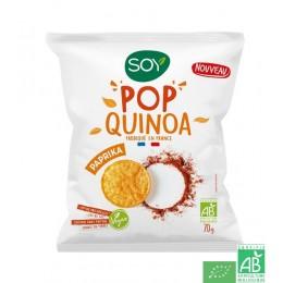Pop quinoa paprika soy