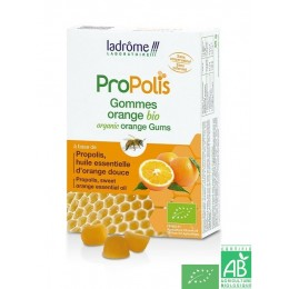 Gommes propolis orange ladrôme