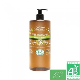 Gel douche argan orange 1 l nature & senteurs