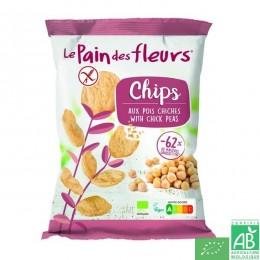 Chips aux pois chiche le pain des fleurs 50g
