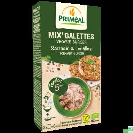 Mix galettes sarrasin lentilles primeal