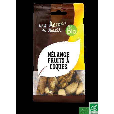 Melange fruits a coques accent bio