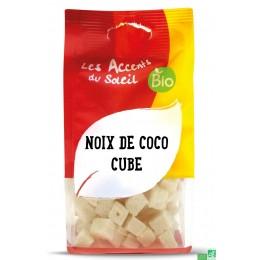Cubes de noix de coco accent bio