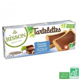 Lot 2 paquets tartelettes choicolat noisettes biss