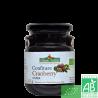 Confiture cranberry coteaux nantais