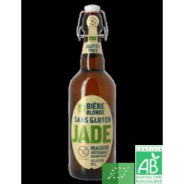 Bière jade sans gluten brasserie Castelain