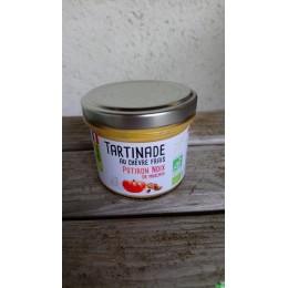 Tartinade au chevre frais potiron noix muscade so
