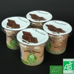 Creme dessert chocolat x 4 le pre joly